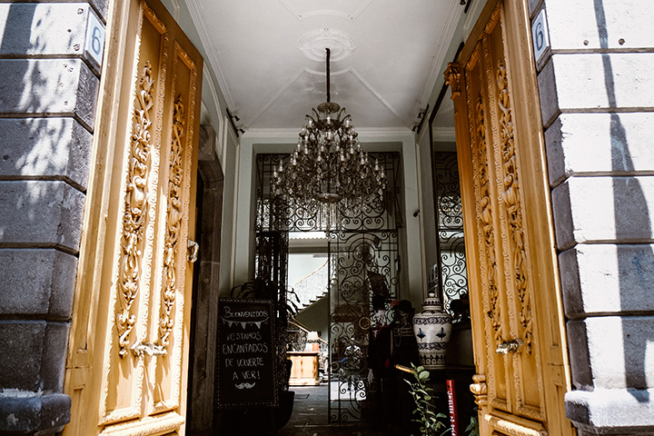 boutique hotel in the historic downtown of Puebla
